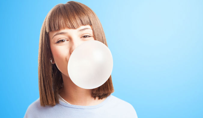 chewing gum good or bad